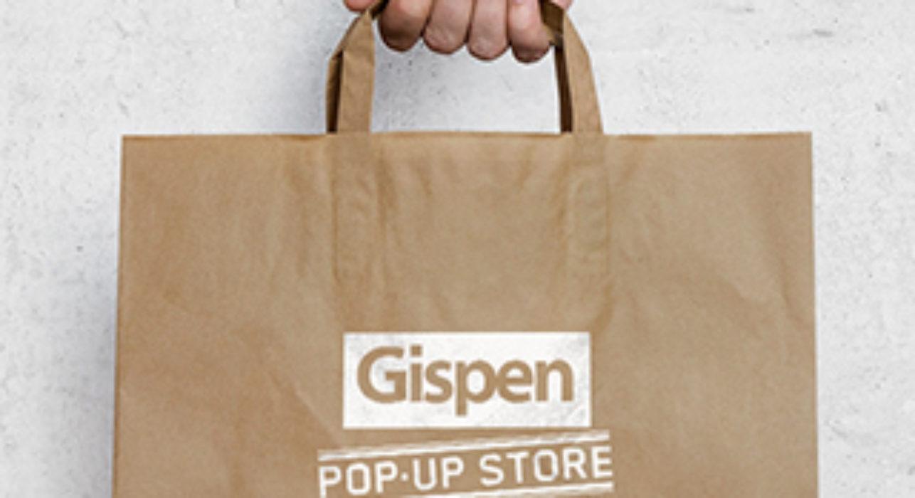 Pop-up store Gispen