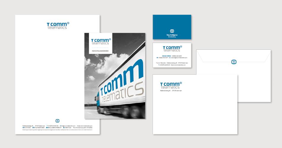 Visitekaartje T-comm