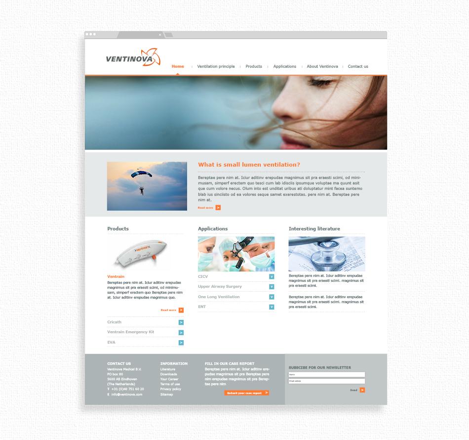 Responsive webdesign Ventinova