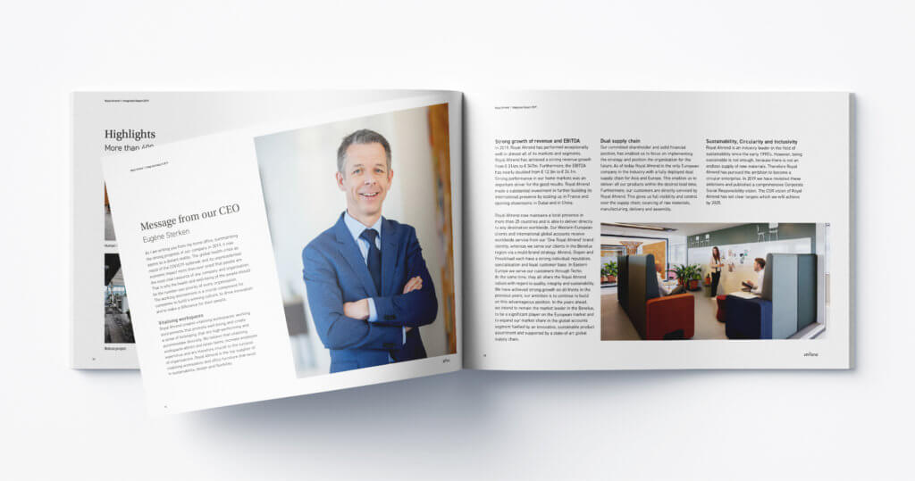 Ahrend Integrated report 2019
